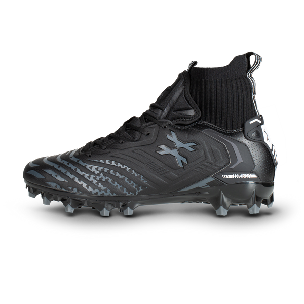 LT Diggerz_X1 - Low Top Cleats - Black/Grey