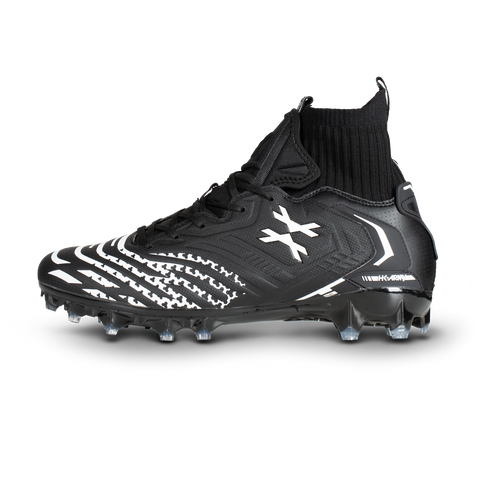 LT Diggerz_X1 - Low Top Cleats - Black/White