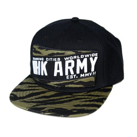 Brushed Olive Camo Hat