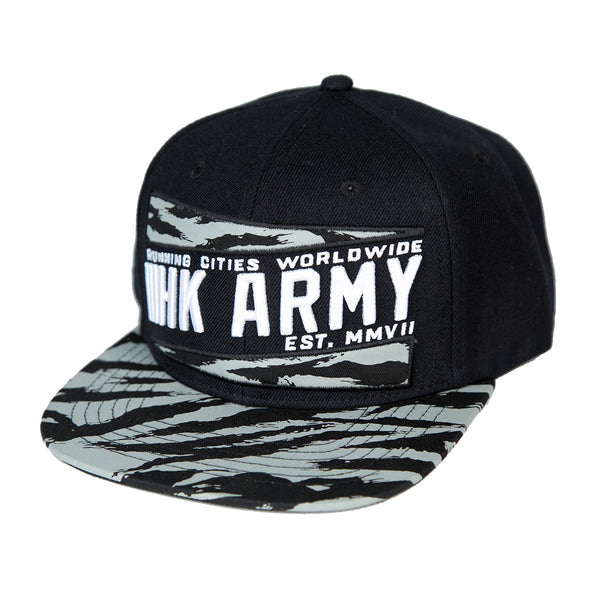 Brushed Grey Camo Hat
