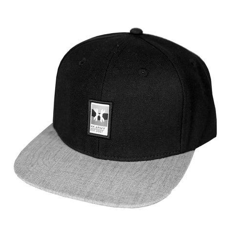 Wavy Hat - Black/Grey