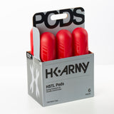 HSTL Pods - High Capacity 150 Round  - Red - 6 Pack
