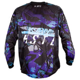 Youth HSTL Line Jersey - Arctic - Purple/Blue