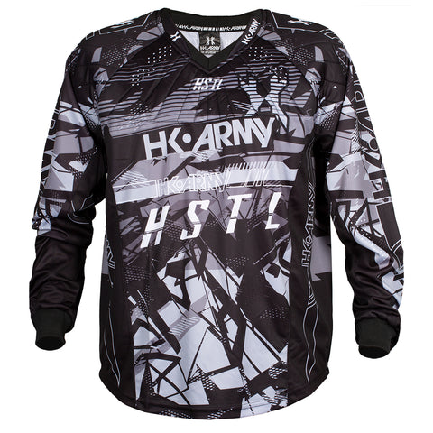 Youth HSTL Line Jersey - Charcoal - Black/Grey