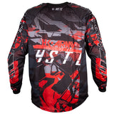Youth HSTL Line Jersey - Lava - Red/Black