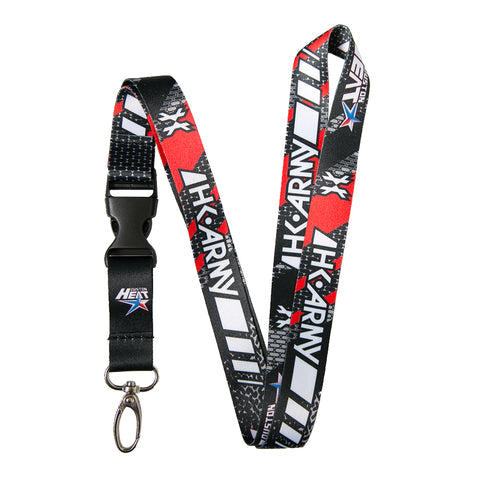 HK Army Lanyard - Houston Heat