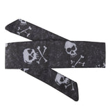 Bones - Hostilewear Headband - White