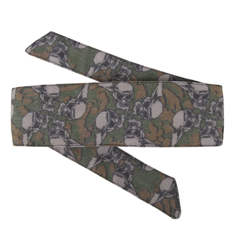 Skulls - Hostilewear Headband - Forest