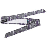 Skulls - Hostilewear Headband - Purple
