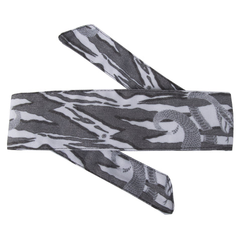 Snakes - Hostilewear Headband - Gray
