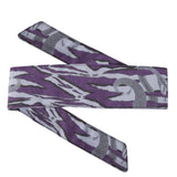 Snakes - Hostilewear Headband - Purple