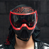 KLR Goggle Blackout Red (Red/Black)