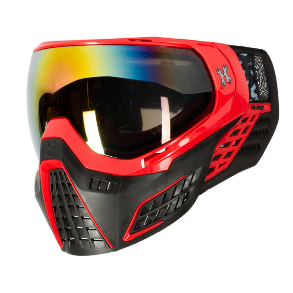 KLR Goggle Fire (Red/Black) - Fusion Lens