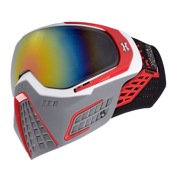 KLR Goggle Slate (White/Red)