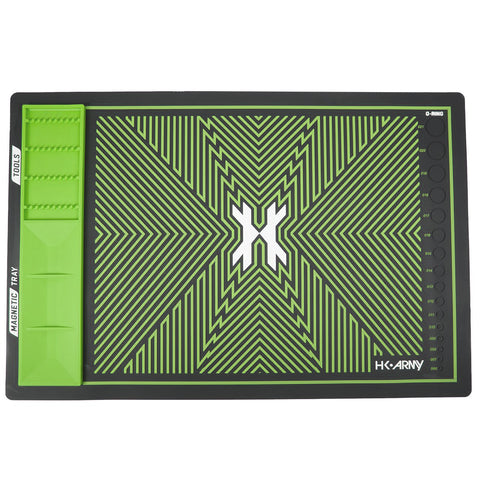 MagMat - Magnetic Tech Mat - Black/Neon Green