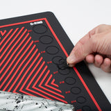 MagMat - Magnetic Tech Mat - Black/Red