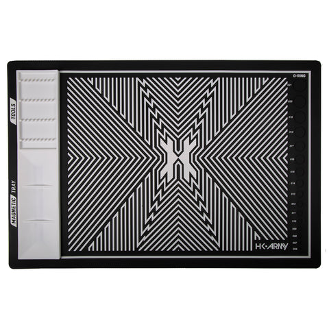 MagMat - Magnetic Tech Mat - Black/White