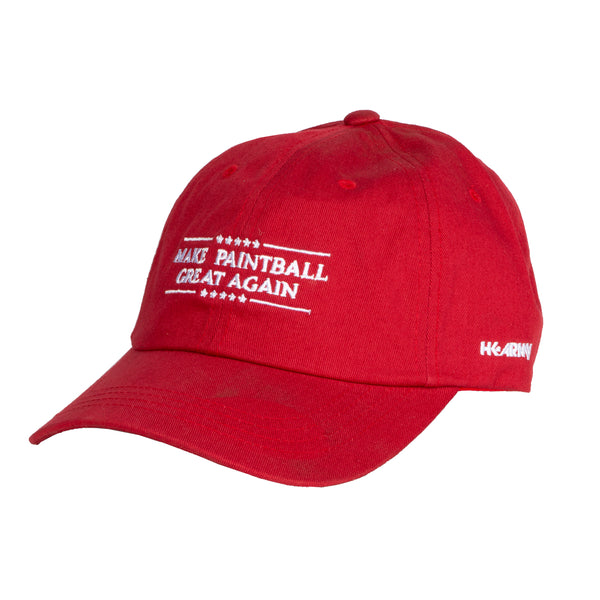 HK Army - Dad Hat - Make Paintball Great - Red
