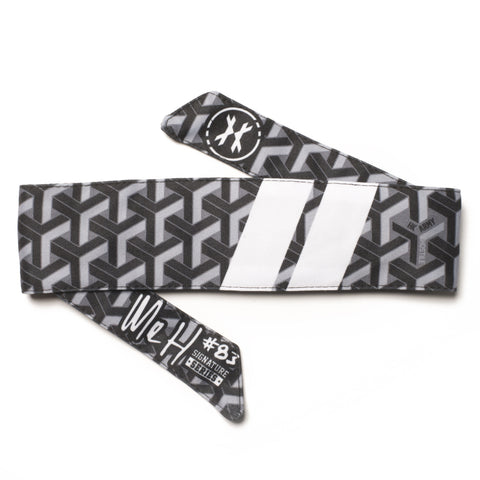 Mr H Stahk Charcoal Headband