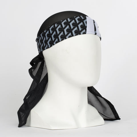 MR. H Stahk Charcoal Headwrap