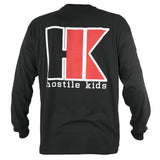 OG Series - Black/Red - Cotton Long Sleeve