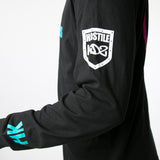 OG Series - Black/Teal - Cotton Long Sleeve