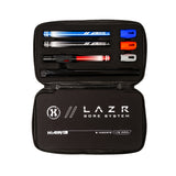 LAZR Barrel Kit - Polish Black - Colored Inserts - Cocker Threads