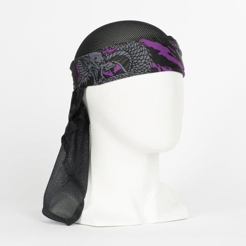 Ryu Purple Headwrap