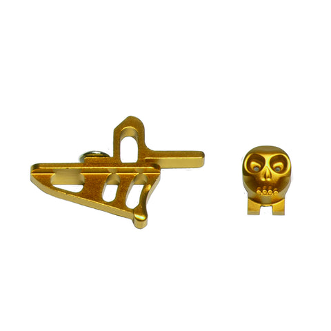 Skeleton Power Button + Release Trigger LTR/Rotor Kit - Gold