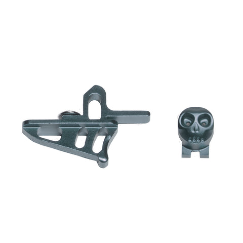 Skeleton Power Button + Release Trigger LTR/Rotor Kit - Pewter