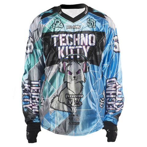 "Techno Kitty ""Blue"" Jersey"