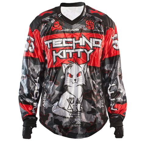 "Techno Kitty ""Red"" Jersey"