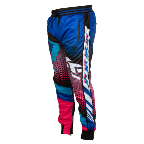 Retro - Blue/Pink - Track Jogger Pants