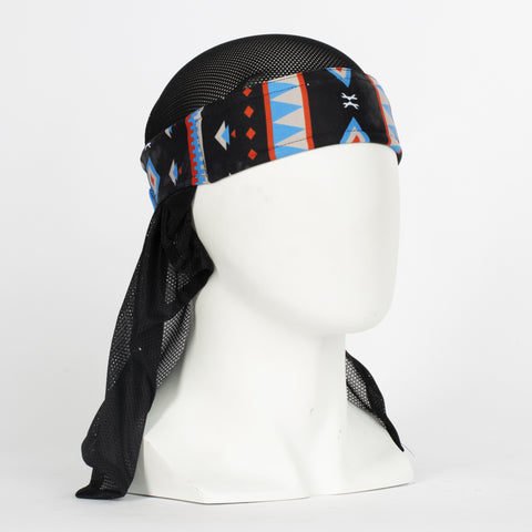 Tribe Blue Headwrap