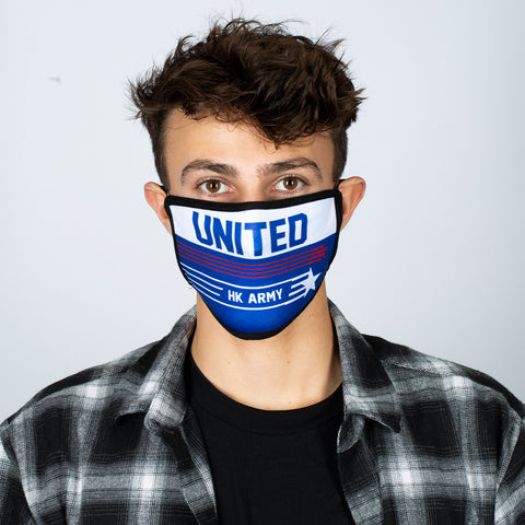 United/USA Flags - Anti-dust Face Mask