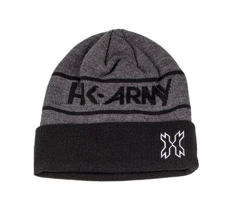 HK Attack Beanie - Charcoal / Black