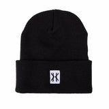 Blackout Beanie - Black/White