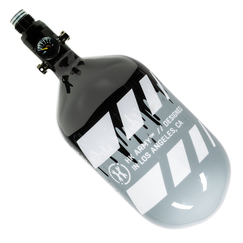 Off Break Drip - Extra Lite Carbon Fiber Tank - Standard Reg - 68ci / 4500psi - Grey/Black