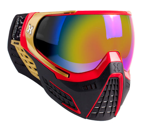 KLR Goggle Element (Red/Gold - Fusion Lens)