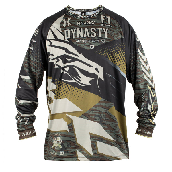 Dynasty - ICC - Hostilewear Snakes Dry Fit - Event Jersey