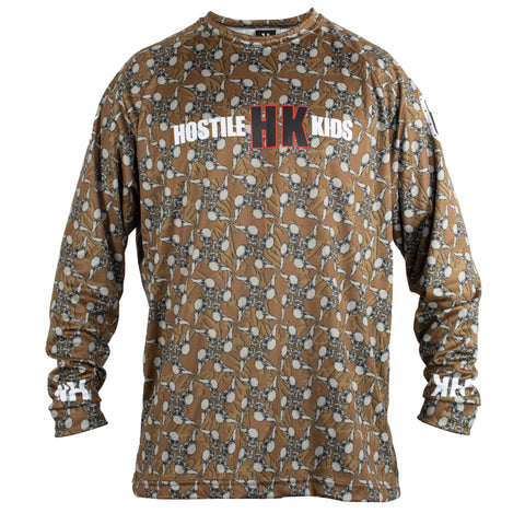 OG Series - Hostilewear Skulls Tan - Dry Fit Jersey