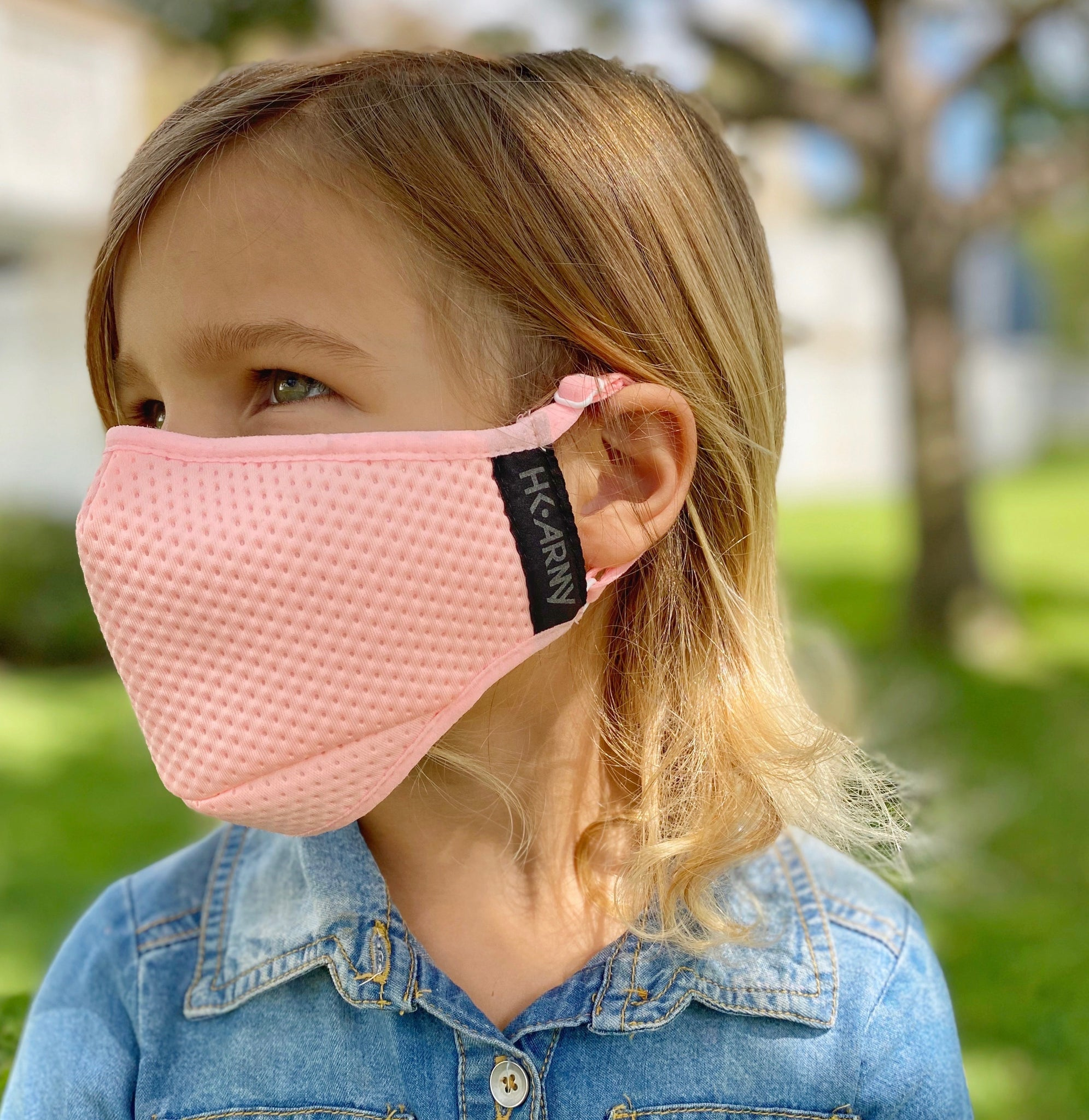 YOUTH - FLTRD Air - Pink - Carbon Filtered Face Mask