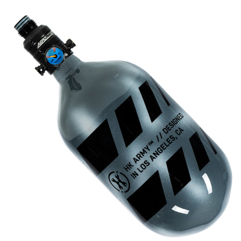 "Off Break - ""EXTRA LITE"" Tank w/ V2 Pro Reg - 68ci / 4500psi  -  Stripe Graphite"