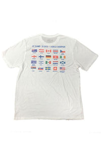WILC Two Side All Flags Tee