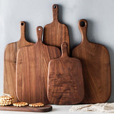 Hangable Beech or Walnut Wooden Non-slip Chopping/ Serving Boards - The Epicurean Cook®