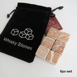 100% Natural Whiskey Stones - The Epicurean Cook®