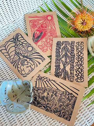 Hand Carved Block Print Set Vol.2