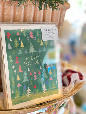 Boxed Holiday Cards Fun Forest