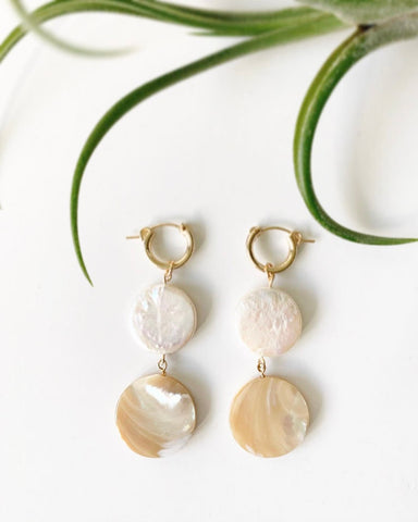 2way Pearl Earrings