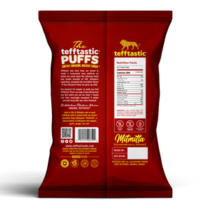 Tefftastic Puffs MItmitta package back